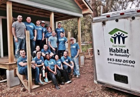 Habitat For Humanity Group Shot
