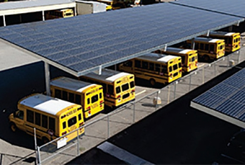 solar power and buses