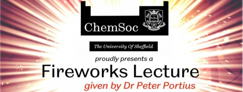 Sheffield ChemSoc fireworks lecture banner