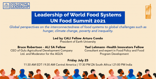 Leadership of World Food Systems UN Food Summit 2021 75