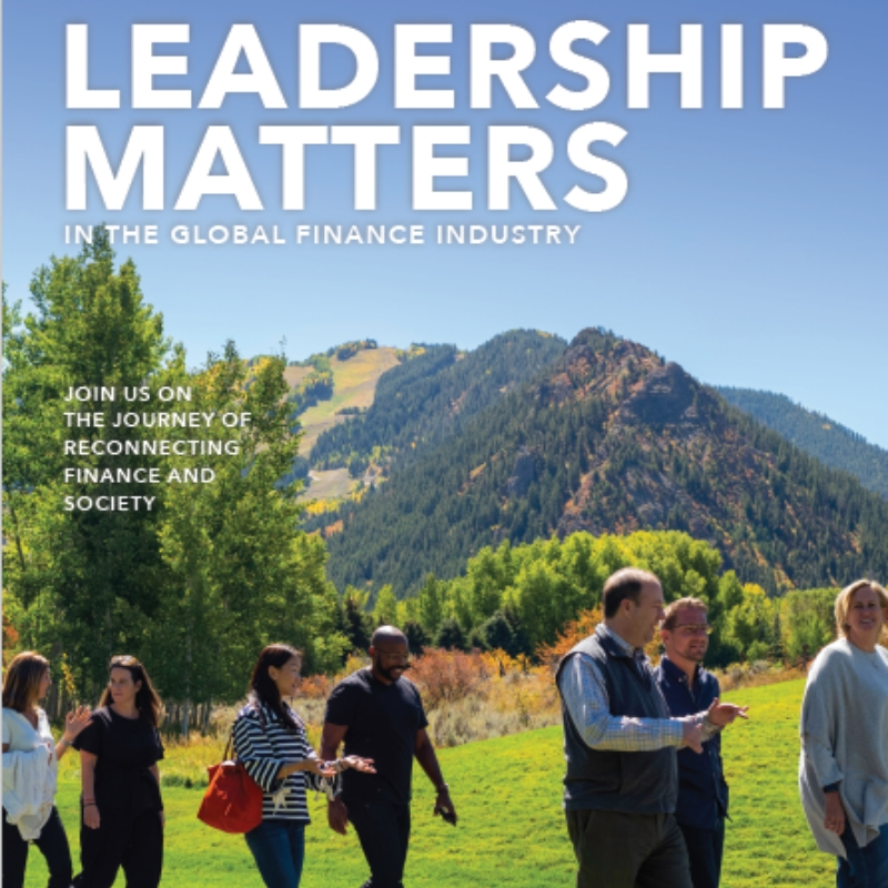 Join Us On The Journey: Why Leadership Matters In The Global Finance Industry 206