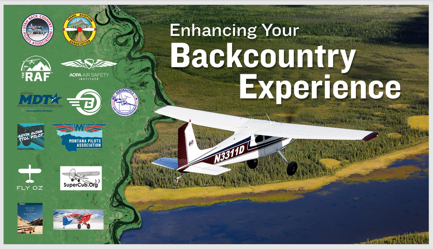 AOPA Air Safety Institute Presents - Enhancing Your Backcountry Experience 3327