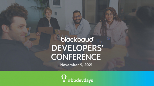 Join Us at the Free Blackbaud Developers' Conference Drop-in on November 9th! 8030