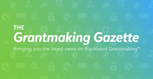 The Grantmaking Gazette Vol. 1 8021