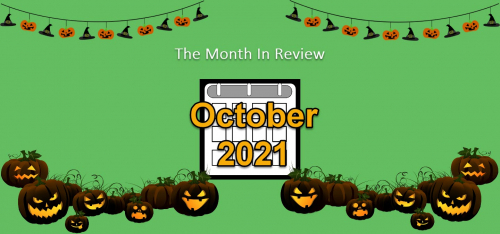The Month in Review: October 2021 Feature Releases 8025