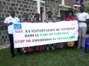 AJVDC 's Fossil Free in Virunga National Park Campaign 7736