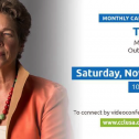 November Monthly Actions & Meeting W/ Tia Nelson, Outrider Foundation