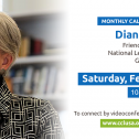 February Monthly Actions & Meeting W/ Diane Randall, FCNL General Secretary
