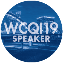 WCQI 2019 Speaker
