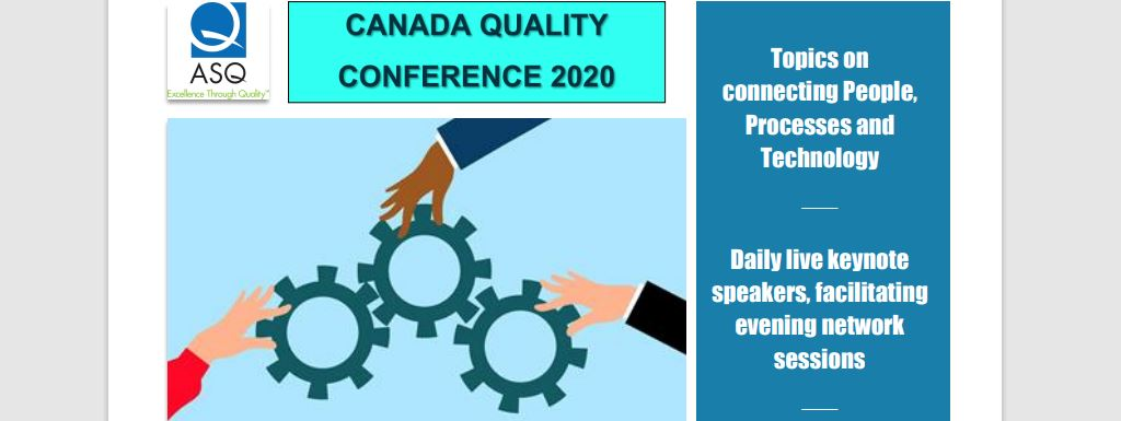 ASQ Canada Quality VIRTUAL Conference 2020 2190