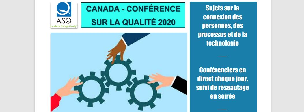 ASQ CONFÉRENCE VIRTUELLE DE LA RÉGION CANADA GROENLAND 2020 2191