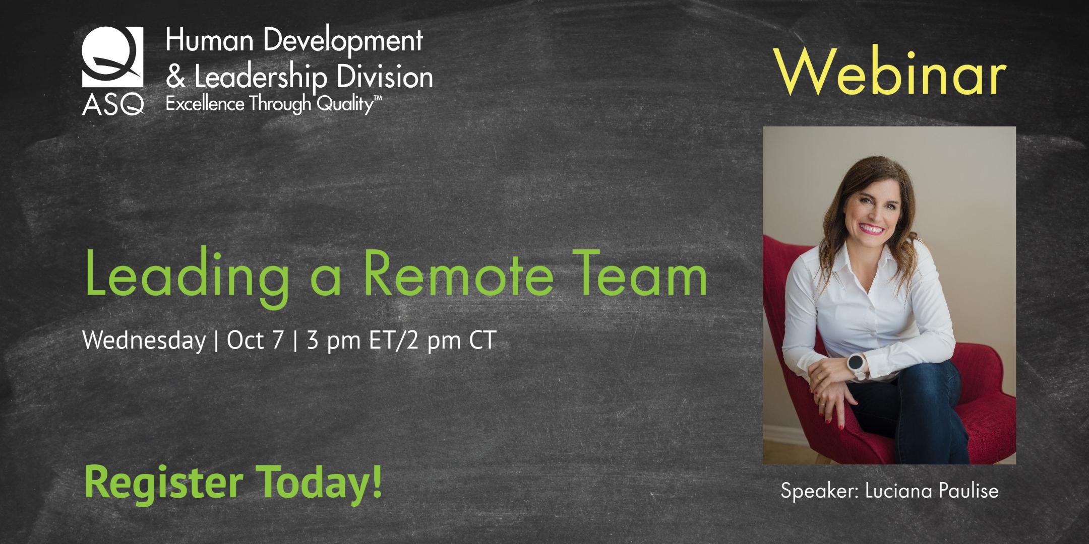 HD&L Webinar: Leading a remote team 2209