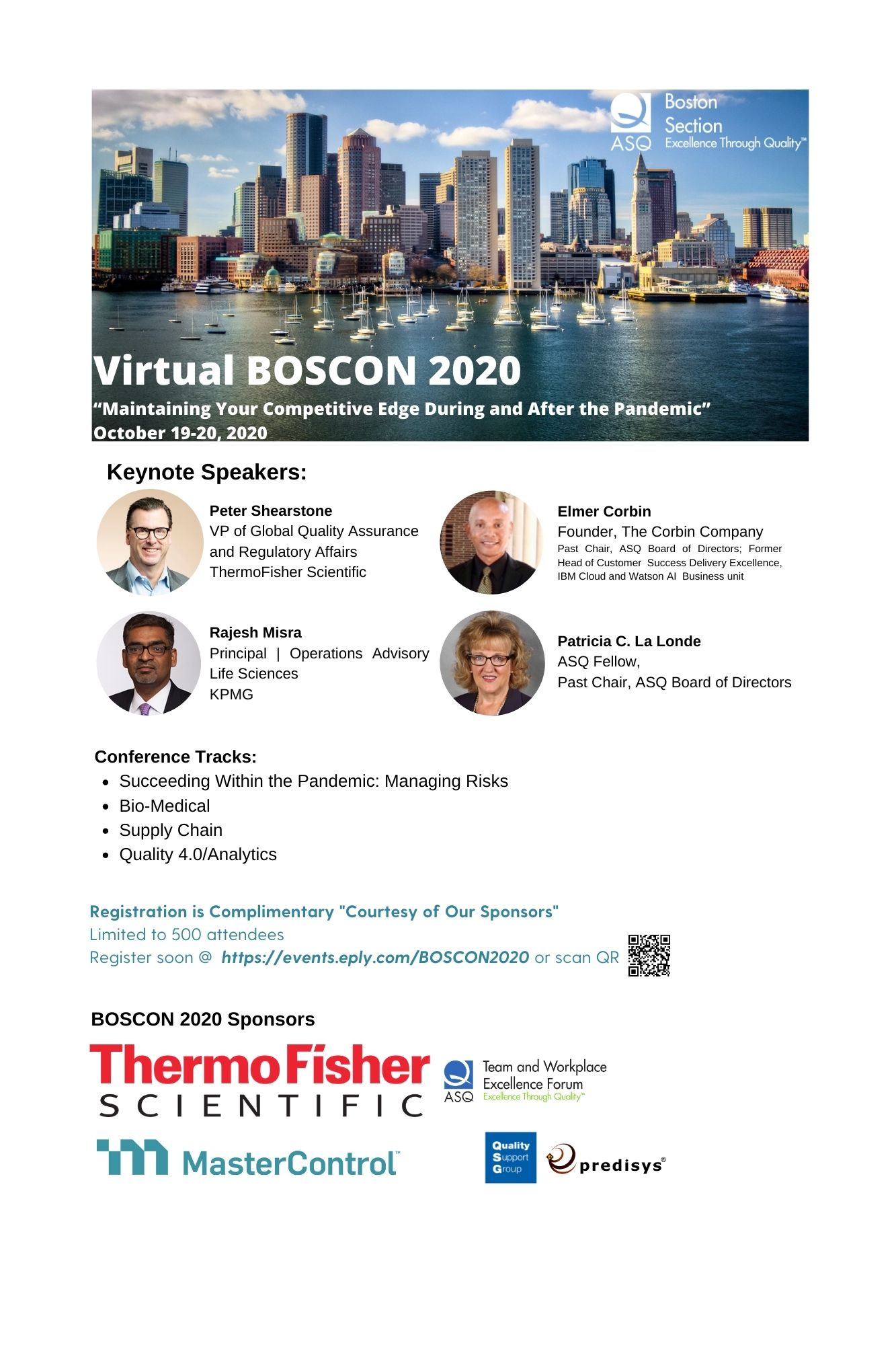 Boscon 2020....It is virtual and it is free!  October 19 & 20 2266