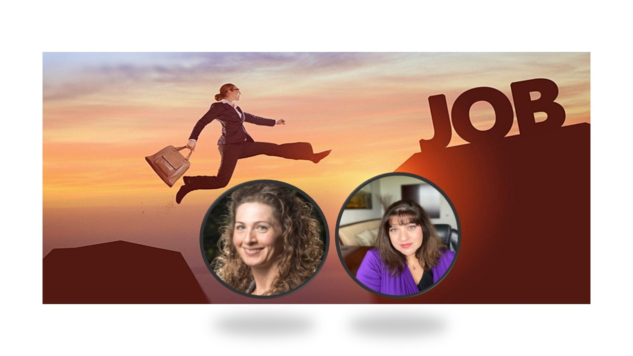 """""""Top Job Search Tactics & Career Growth Strategies"""" Erin Urban and """"Understanding How Applicant Tracking Systems Work"""" Melanie Woods 2387"""