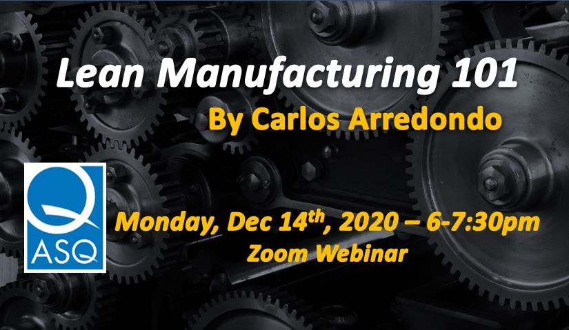 Lean Manufacturing 101 - Webinar 2467