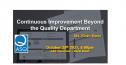 Webinar - Continuous Improvement Beyond the Quality Department 3486
