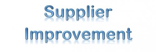 Supplier Improvement