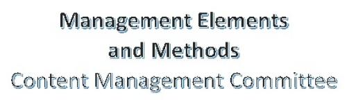 Management Elements CMC