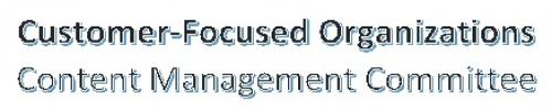 Customer Focus CMC
