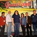 The last tour.  Six conference attendees traveled to the home of Elvis 3766