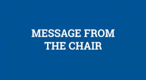 Chair's Message