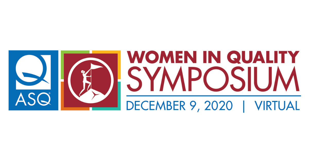 We ARE Doing It!  Women In Quality Symposium 1500