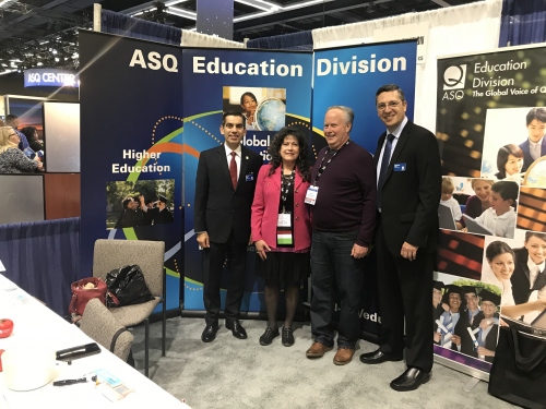 Education Division Exhibit Hall booth
