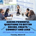 Asking Powerful Questions to Better Decide, Create, Connect and Lead 3538