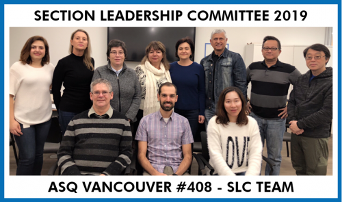 ASQ Section Leadership Committee 2019