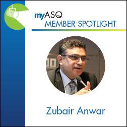 June Membership Spotlight: Zubair Anwar 1103