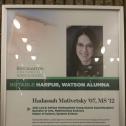 Binghamton University celebrates notable alumna of the Watson Engineering School. 12936
