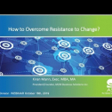 """Webinar Title: How to Overcome Resistance to Change<br /> Presenter: Kiran Mann<br /> ASQ HD&L Webinar Date: October 16, 2019<br /> <br /> In our August webinar, """"Why People Resist to Change?"""", we explored the ways in which people express resistance to change. In our October webinar, we focus on SOLUTIONS. Given the challenges resistance presents you with, let's focus on how to get past the resistance and on to bringing about the change.    <br />  <br /> Key Takeaways for this webinar include:<br /> - Type of resistance – Identify the form of resistance, take the time to surface the resistance.<br /> - Reflect on reasons for Resistance, understand, evaluate how effective the current process is.<br /> - Structured and Practical change management process for the human side of organizational change.<br /> - Tools for Reinforcing sponsors and Change agents that help manage resistance while it is occurring."""
