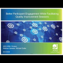 Webinar Title: Energizing participant involvement when facilitating Process Improvement Events<br /> <br /> Presenter: Michael Gutka<br /> <br /> ASQ HD&L Webinar Date: February 12, 2020<br /> <br /> Have you ever facilitated a process improvement event and have it fall flat due to participant apathy? If so, maybe the content being conveyed did not strike a chord with the audience or possibly you were teaching when you should have been facilitating. Successful facilitation is more than effective communication, it's also about structuring content in a way that's meaningful to audience so they can have their AH HA ! moments and tie it back to the environment they can relate to. The purpose of this webinar is to provide effective tools and techniques to engage & energize your audience while tying content to successful PI outcomes.<br /> <br /> Attendees will learn how to better:<br /> 1. Identify areas of improvement and potential waste<br /> 2. Structure content to improve event flow using openers, activities, energizers, and closers<br /> 3. Revisit content areas that need reinforcement
