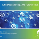 """Webinar Title:  Efficient Leadership...The Future Focus<br /> Presenter: Nancy Nouaimeh<br /> ASQ HD&L Webinar Date: December 12, 2019<br /> <br /> We saw in the last decade considerable investments made by companies and individuals in executive training, and while there is rising demand for leadership skills many development programs failed to deliver their promised results. This webinar addresses in a practical way; future leadership trends, leadership skills required to consider in the future while developing leadership training programs and why it is required to have modified """"learning models.<br /> <br /> - Part I: Introduction which addresses key trends impacting leadership and that companies and leaders need to watch for in the coming years.  <br /> - Part II: Core of the webinar which addresses six key skills needed to support a prompt adaptation process to the trends discussed in part I, through sharing of examples and lessons learned.<br /> - Part III- Wrap up will discuss how the above can be tackled and achieved through a modification in """"Learning Organization"""" models and a proper culture focusing on excellence and diversity.<br /> <br /> Key take-aways:<br /> - Knowledge of key future leadership trends<br /> - What leadership skills to focus on and self-assess against, both for individual leaders and for companies wanting to prepare their leaders for the future.<br /> - Shift needed in learning models"""
