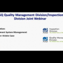 In this webinar, Kristin Case will share the insights for those organizations who maintain certification to ISO 9001 or a related industry-specific standard, this webinar will present simple, quick tips for improving the effectiveness and/or efficiency of the quality management system itself. This webinar will focus on the following areas:<br />