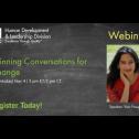 Webinar: Winning conversations for  c...