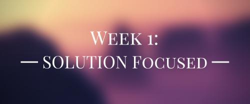 Solution Focused 397