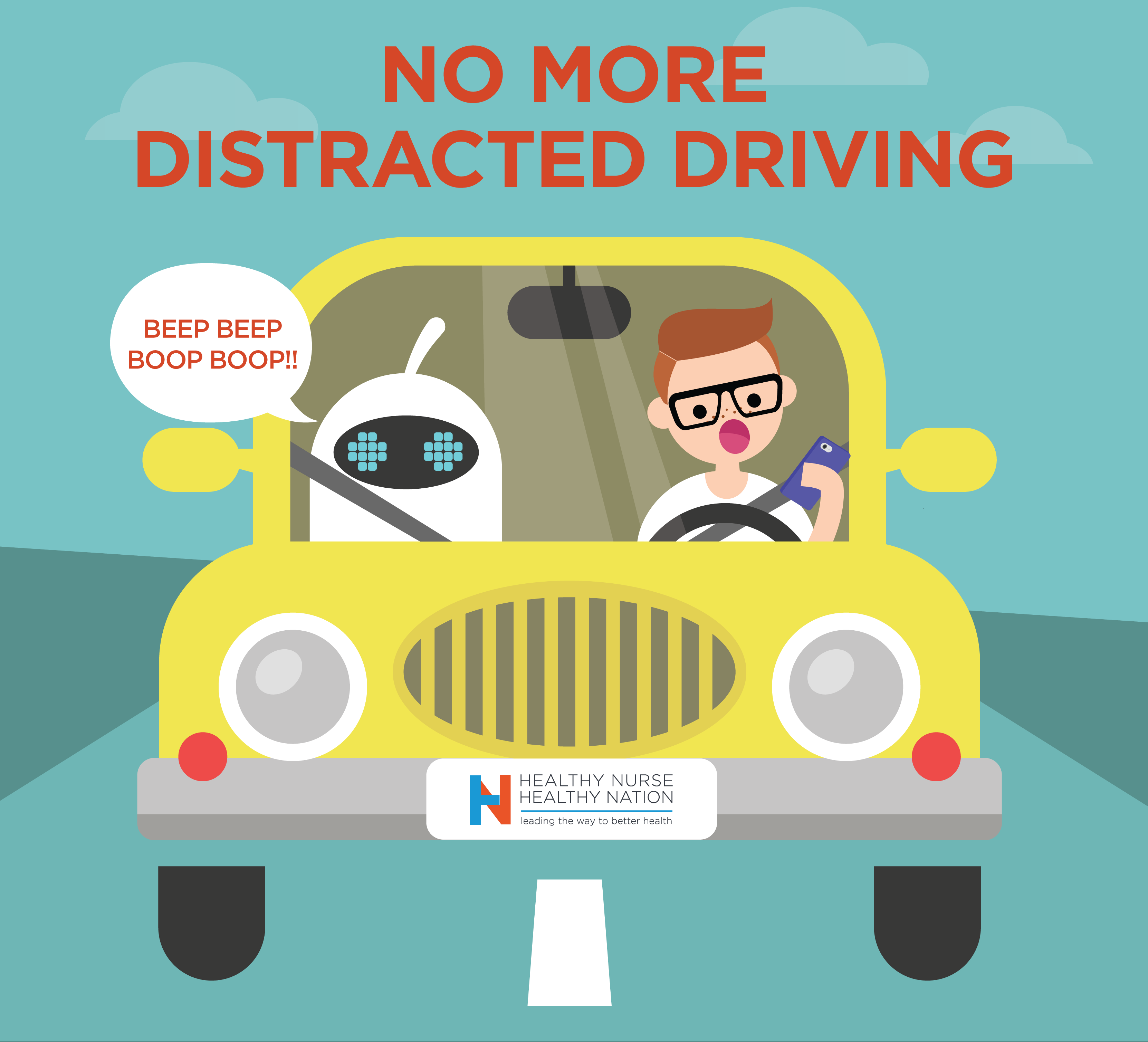 No More Distracted Driving 44