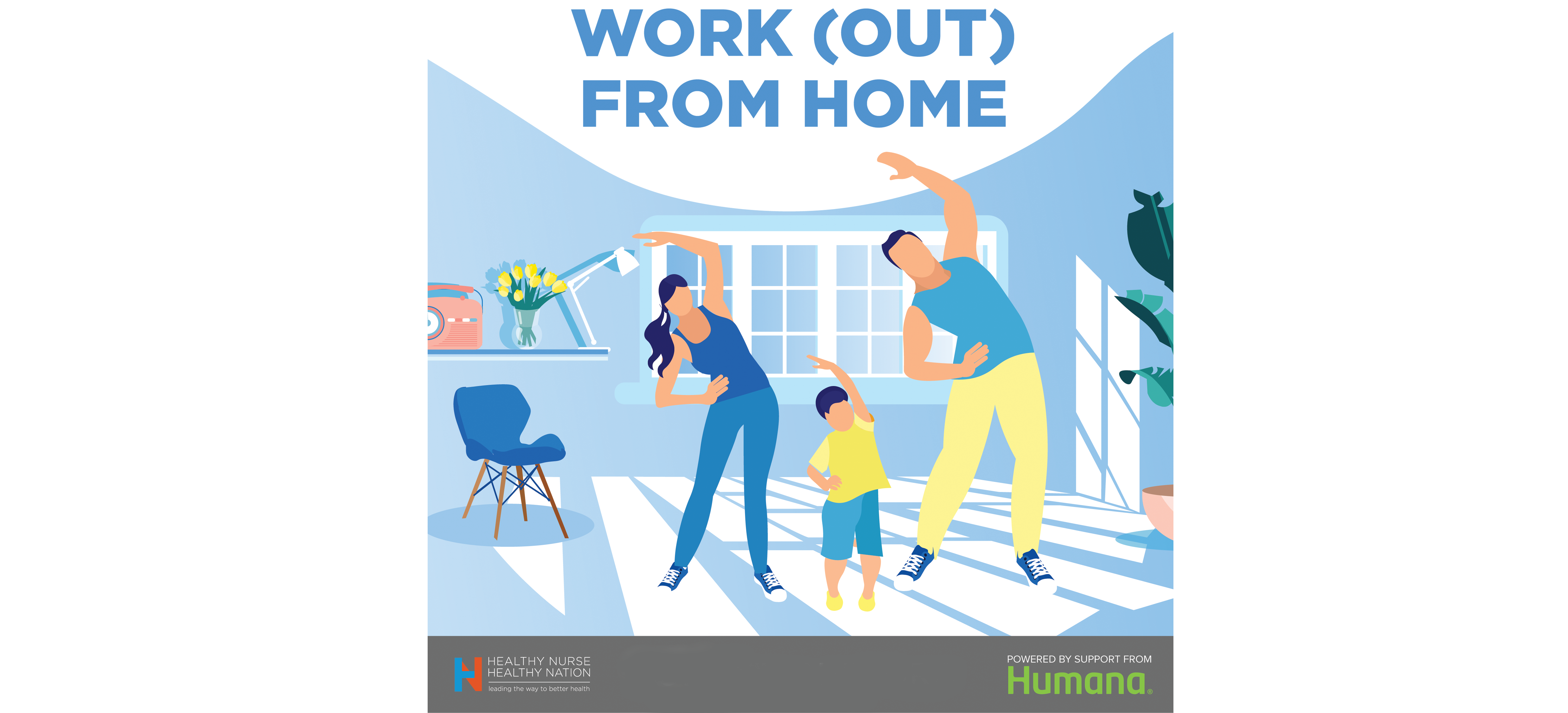 Work (Out) From Home, powered by Humana 56