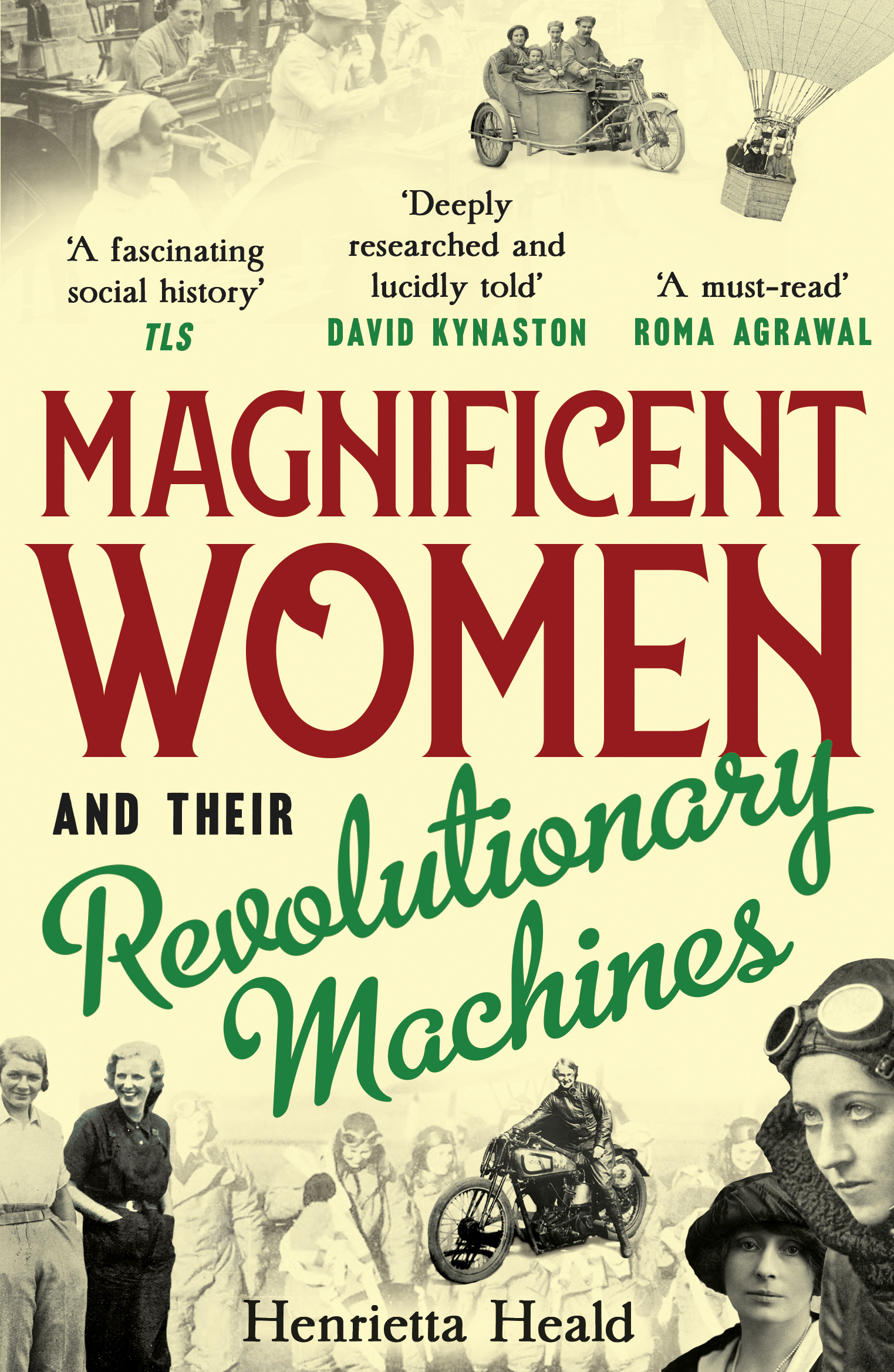 Magnificent Women and their Revolutionary Machines: a new look at the history of women in engineering 26954