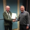Presentation to Trevor Branton in recognition of outstanding service with the Anglian Coastal local network committee and Eastern Regional forum