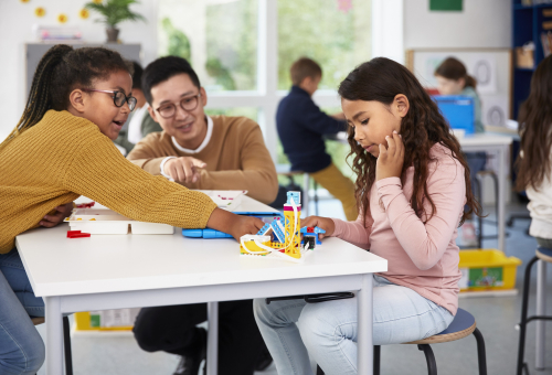"""""""The Benefits of Purposeful Play in Learning,"""" presented by LEGO® Education and SmartBrief 107"""