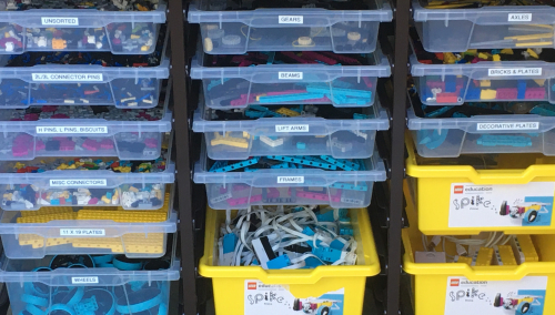 LEGO Storage In The Classroom 81