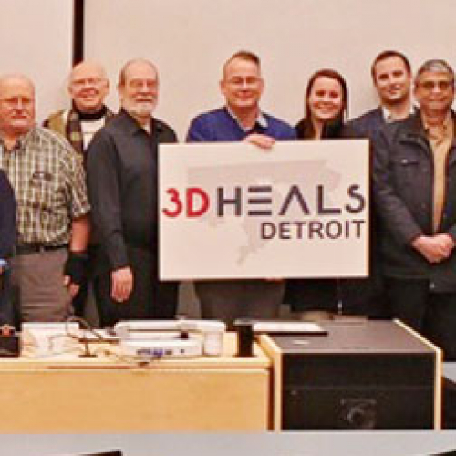 SME's Local Detroit Chapters Team Up With University Of Michigan And 3DHEALS Detroit To Offer 3D Printing In Healthcare Event 242