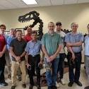 The SME gang next to the Janicki carbon fiber T-Rex! 1408