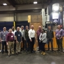 The SME gang in front of Machinists Inc new 5 axis mega mill! 1555